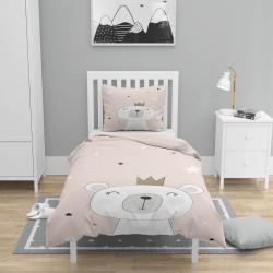 3d model Seturi Single Duvet Else roz ursuleț de pluș pentru copii