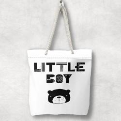 Else Urșii pentru copii Tiny 3d Patterned Fabric fermoar umăr geanta