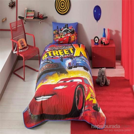 Textile pentru copii/tineri - Cuvertura de pat Taç Disney Cars Nitroade