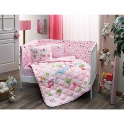 Taç Set p/u bebeluși Roz