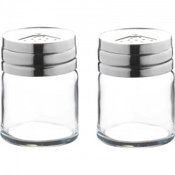 Paşabahçe 2 vase p/u sare cu capac din metal