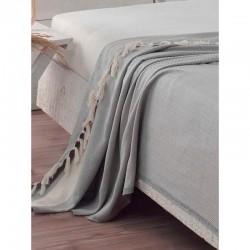 Cuvertură de pat Naturală Gri