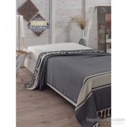 Cuvertură de pat Elmas Siyah dimensiuni mari