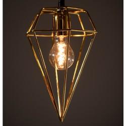 Lampă suspendată din alamă