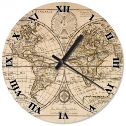 Ceas de perete Harita lumii