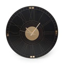 Eekhome Roma Gold oglindă ceas decorativ din lemn