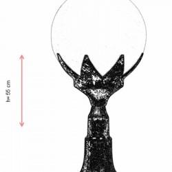 AVONNI BSU-68209-BKR-M2 Iluminat exterior pictat maro E27 ABS sticlă polietilenă 25cm