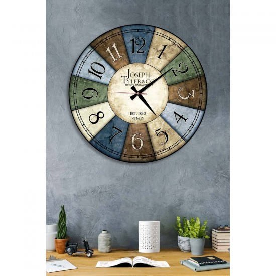 Dafhi Ceas de perete din lemn