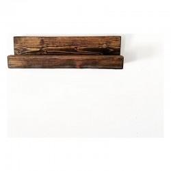 Masiv  manual cu raft din lemn